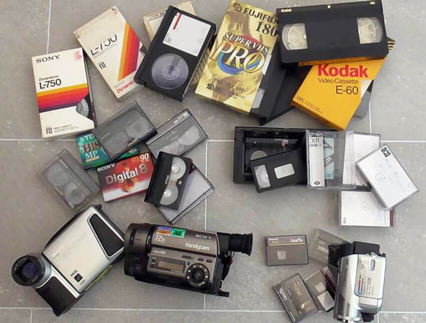 Video and Camcorder tapes to Digital DVD
