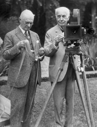 George Eastman and Thomas Edison Cinematography was invented and developed in the 19th Century